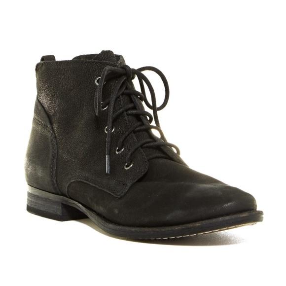 623a7fdd9b5f Sam Edelman Mare Lace Up Ankle Boot 8m Black. M 5b5923d704e33d9951981dd2